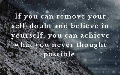 Release Self Doubt; Discover Your Awesome Self