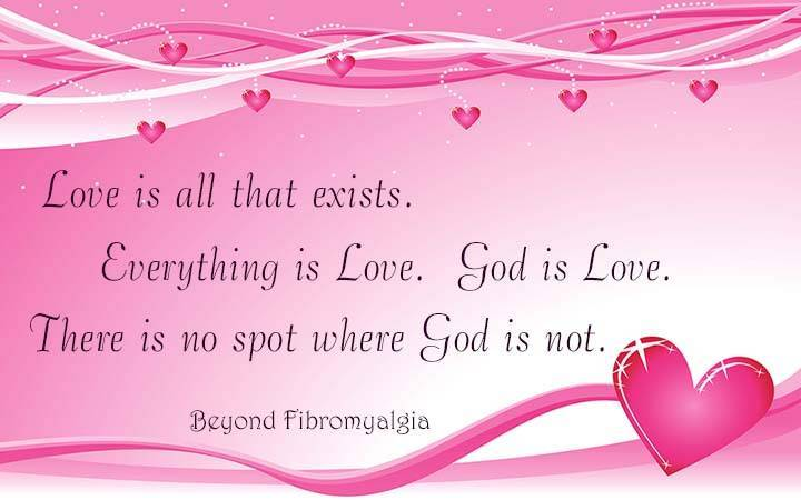 Love Is All that Exists
