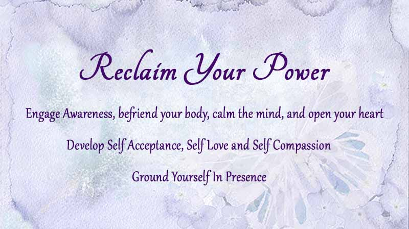 Reclaim Your Power
